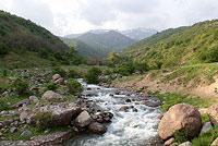 Каракиясай - приток Чирчика