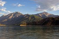 Вид на горы аукашка патандазбаши и